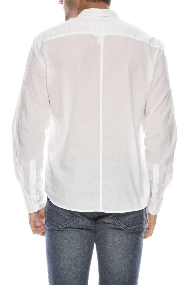 Frank & Eileen Luke Light Poplin Shirt - WHITE