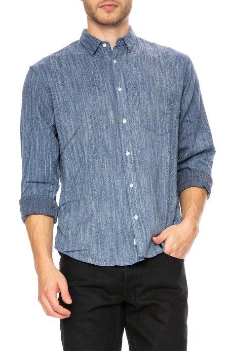 Frank & Eileen Luke Limited Edition Flannel Shirt - Navy