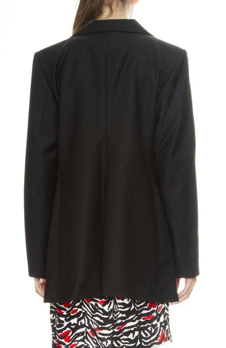 Adam Selman Oversized Blazer - Black
