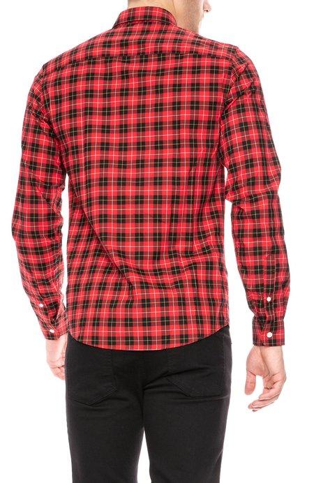 AMI Button Down Shirt - Plaid