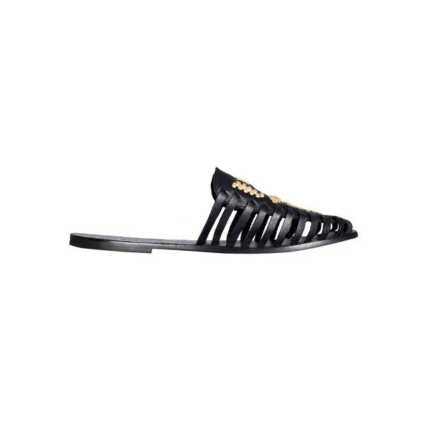 Cartel Footwear Macas - Black / gold