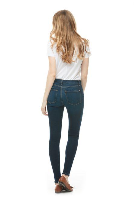 Yoga Jeans Classic Rise Skinny - Dark Indie