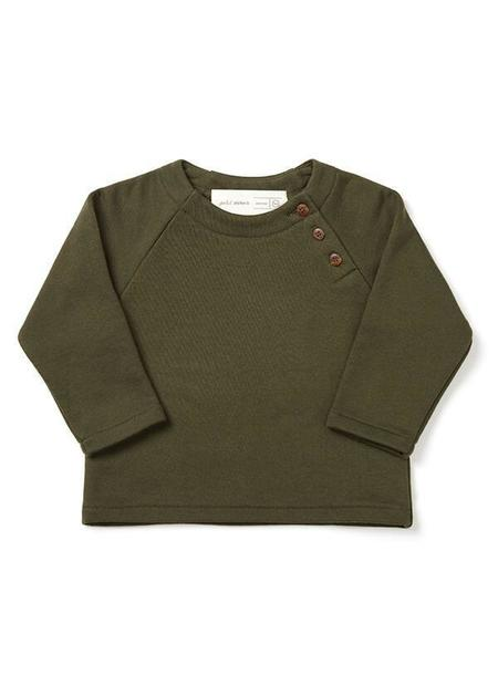 Kids Atelier b. Sweater - Olive