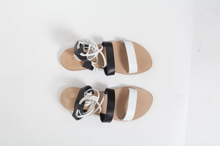 CAPRI POSITANO Itama Sandal -  Black/White