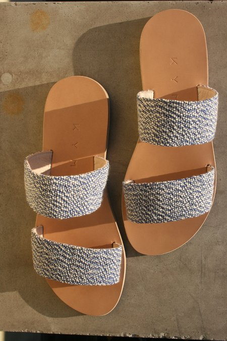 KYMA Giaros Sandals - Blue Speckle