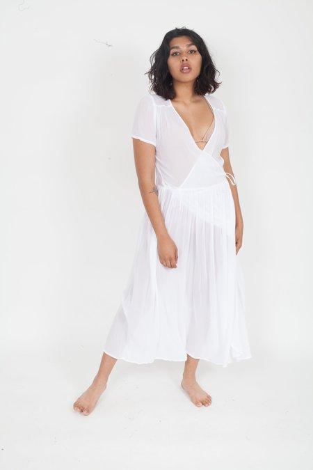 Lacausa Pantry Dress - White