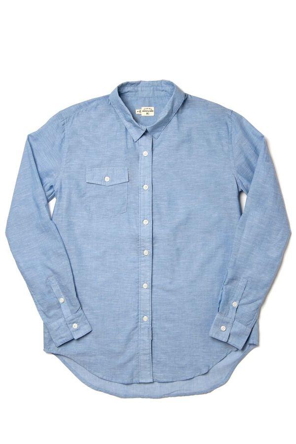 adeae7b1222d Bridge   Burn Bird Shirt - Summer Chambray Light Blue