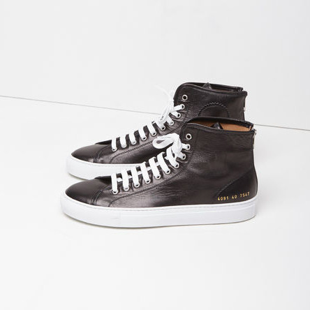 Common Projects TOURNAMENT HIGHT TOP SNEAKERS