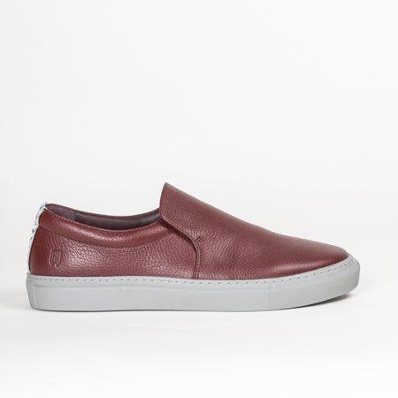 Noah Waxman Tompkins Sneaker - Oxblood