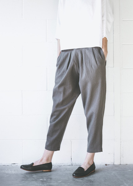 Black Crane Heavy Carpenter Pant in Coffee