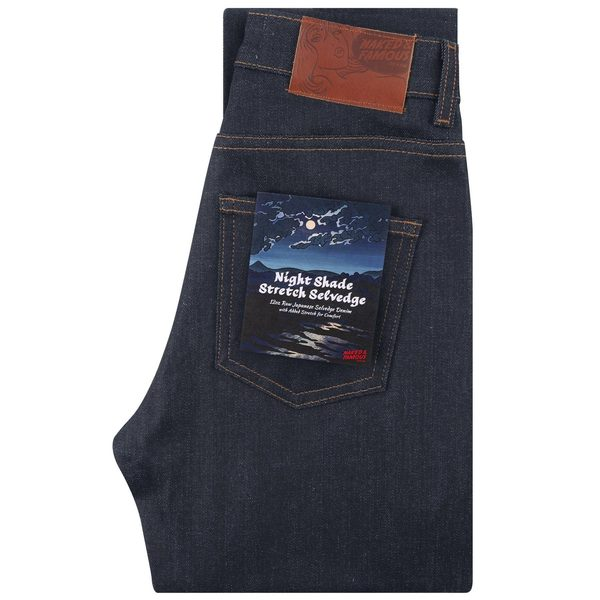 716cbc25e66 Naked & Famous High Skinny & Max Fit Nightshade Stretch Selvedge - Indigo