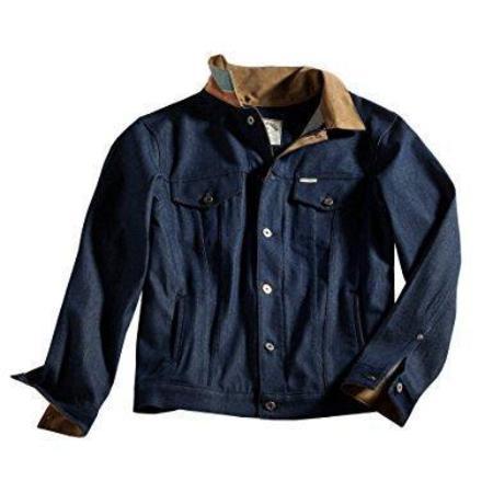 Iron And Resin Rambler Jacket - Indigo