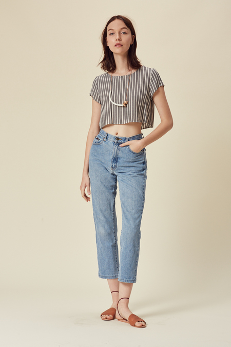 Stil. Ace Crop Top - Stripe