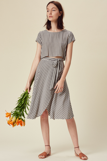 Stil. San Pedro Skirt in Stripe