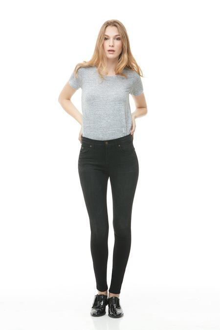 Yoga Jeans High Rise Skinny - Louvre