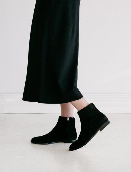 Mansur Gavriel Flat Shearling Ankle Boot