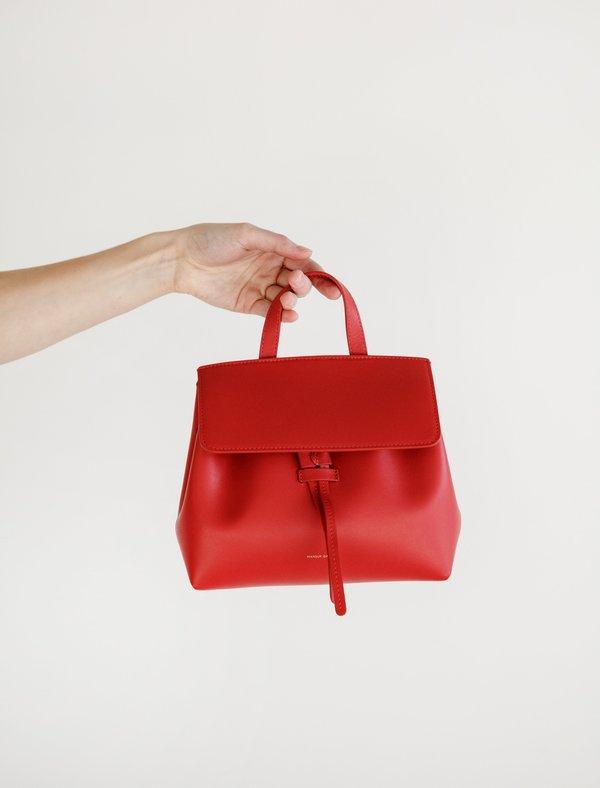 f540b352096 Mansur Gavriel Mini Mini Lady Bag - Flamma on Garmentory