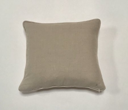 Bianca and Red Studio Square Pillows - White/Red