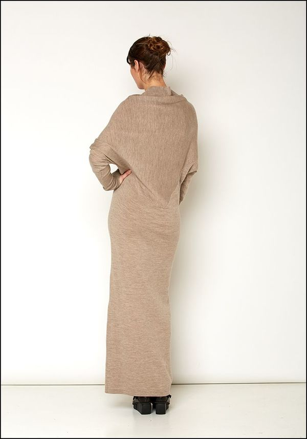 ba0777f173 Nicholas K Long Sweater Dress - OATMEAL. sold out
