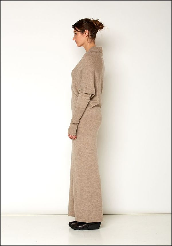 b7c28c6069 Nicholas K Long Sweater Dress - OATMEAL. sold out. Nicholas K