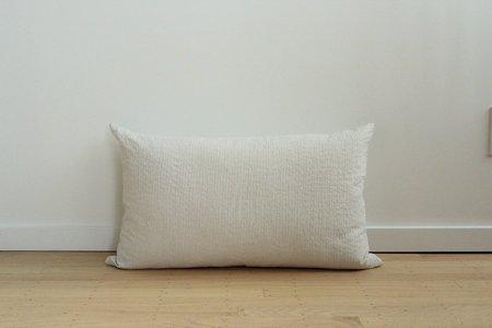 Anara Rise Lumbar Pillow - WHITE