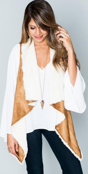 Show Me Your Mumu Reversible Vagabond Vest