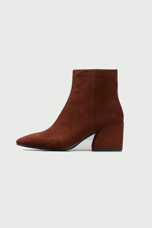 Vagabond olivia suede boot - brown
