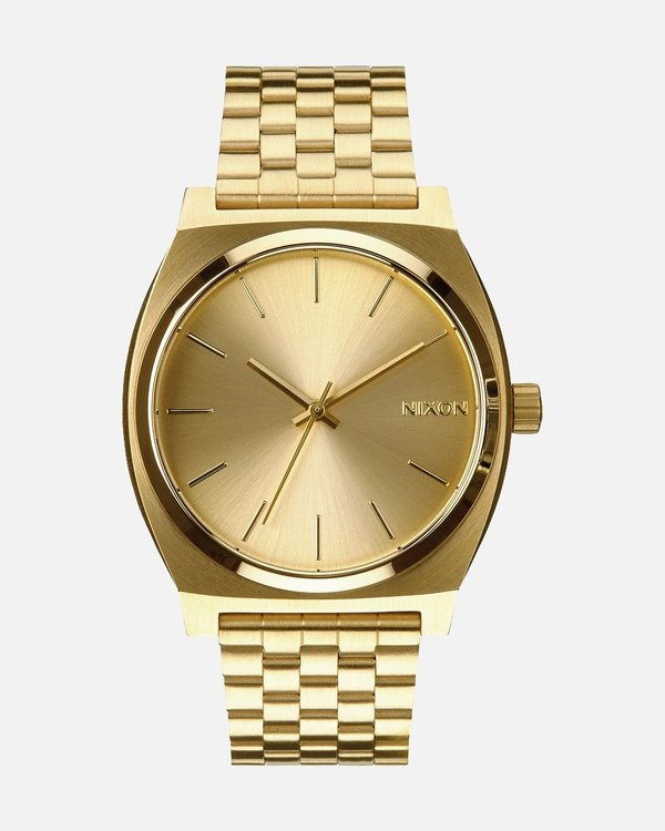 Nixon Time Teller Watch - All Gold Gold  5ae34dd87dce