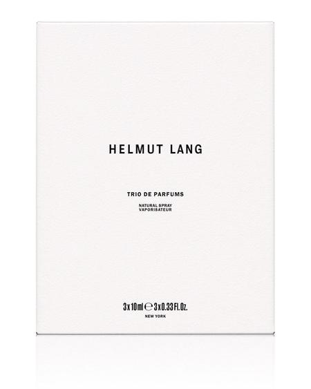 Helmut Lang Fragrance Trio De Parfums