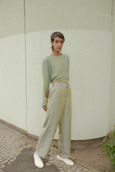 Halo Labels OPALESCENT pants - MOSS