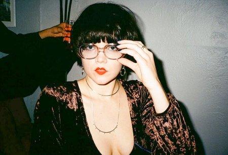 Side Party Lea Crushed Velvet Bodysuit - DEEP BROWN