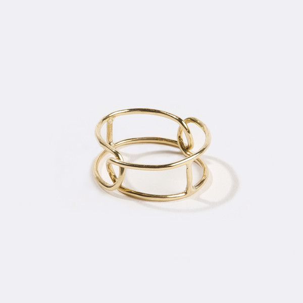 Metalepsis Projects Interlocking Ring