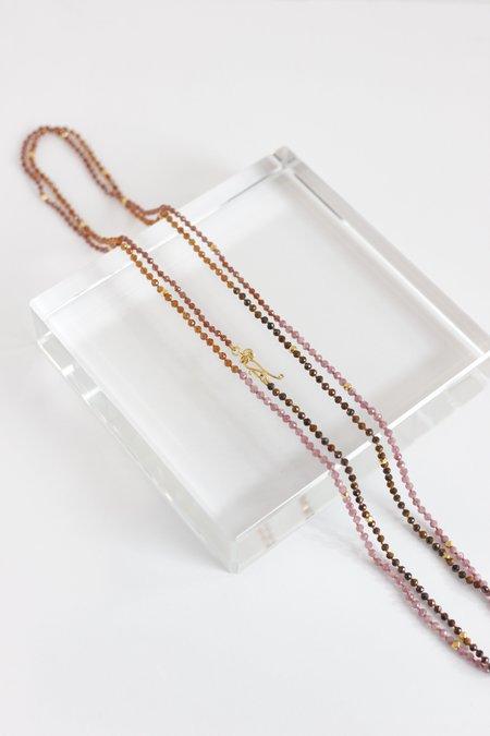 Lena Skadegard mixed gemstone necklace