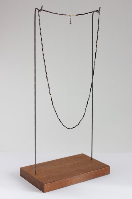 Lena Skadegard spinel and bead necklace - Gold