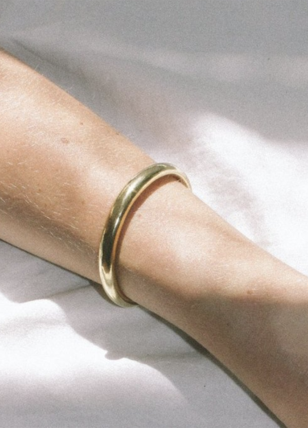 Wolf Circus Assembly Cuff - 14k Gold