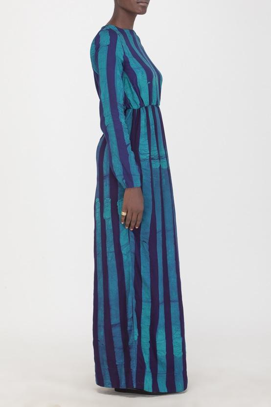 Osei-Duro Mallam Dress in Esmeralda