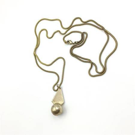 Knuckle Kiss Sun Beam Necklace - Bronze