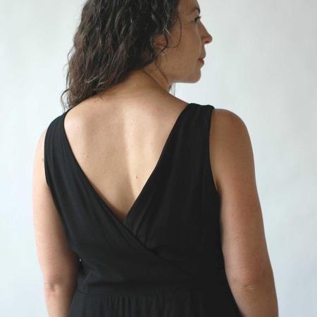 Field Day Wrap Dress - Black
