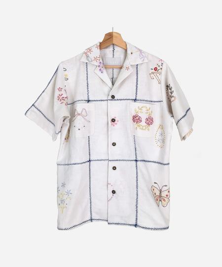 UNISEX COATZ Posy 01 Shirt - White