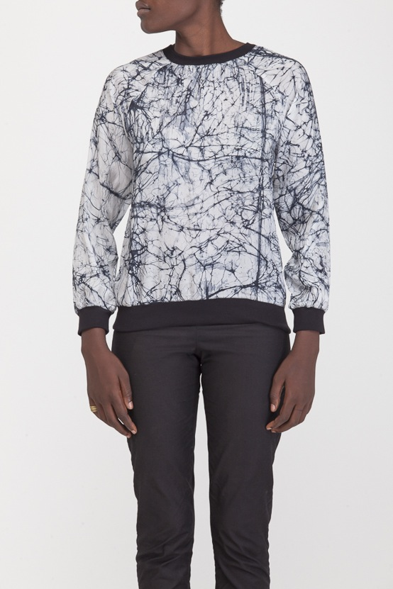 Osei-Duro Rapt Sweatshirt in Icebreak
