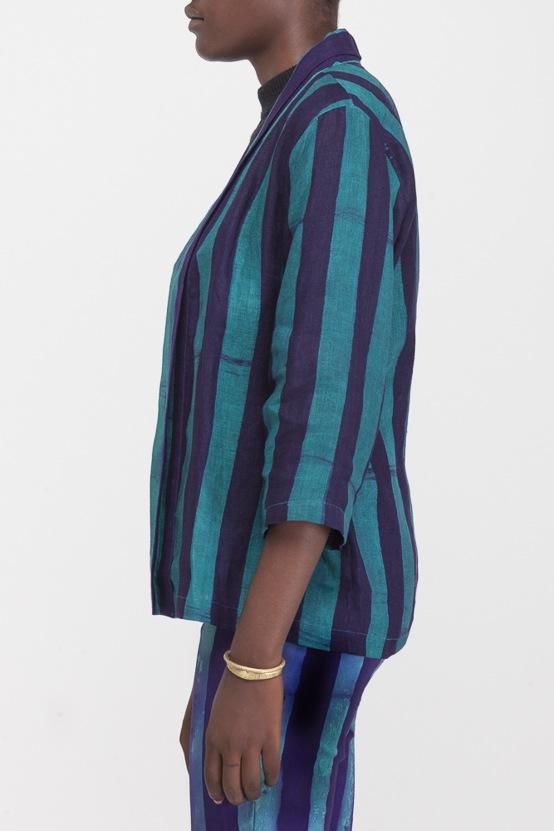 Osei-Duro Arca Jacket in Esmeralda