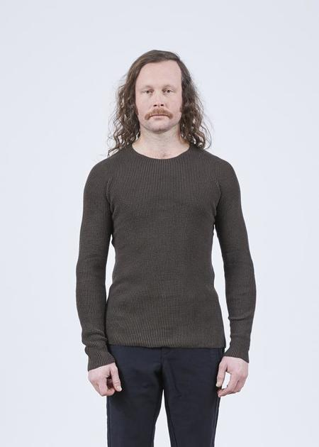 Hannes Roether Residency Minga Knit Sweater - Brown