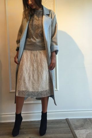 Derek Lam 10 Crosby Wool Coat