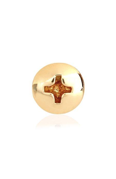 Alison Lou Screw Head Stud Earring - Gold