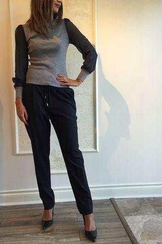Leur Logette Turtleneck Sweater  - Black