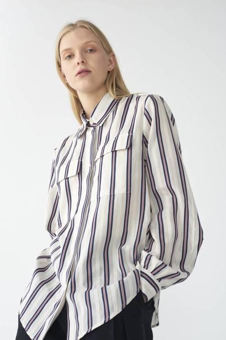 Matin Collared Shirt - Stripe