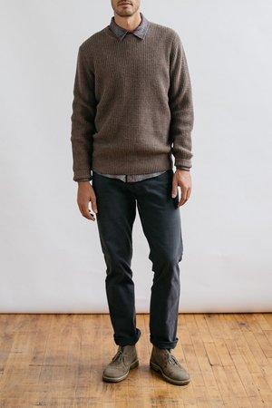 Bridge & Burn Porter Sweater - Taupe