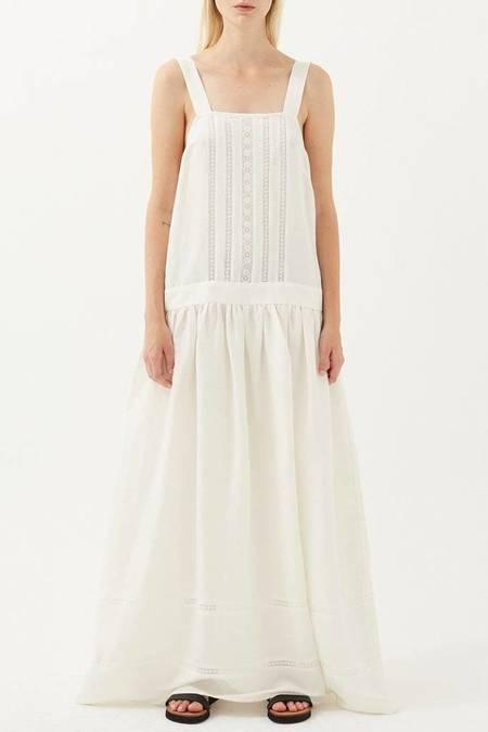 Matin Harlingen Dress - WHITE