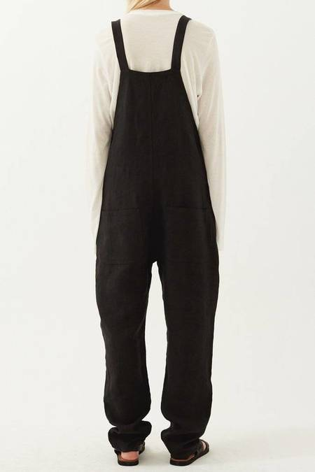 Matin Classic Cotton Overalls - Black