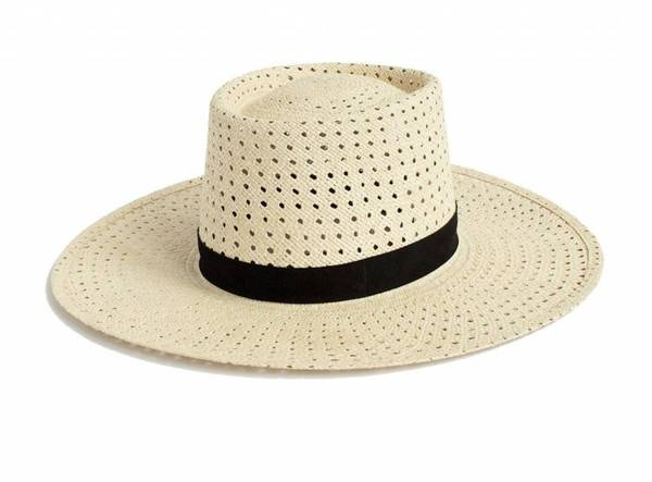 Janessa Leone Maxime Panama Hat - NATURAL